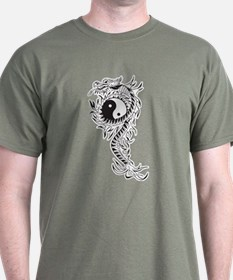 Yin Yang Dragon T-Shirt