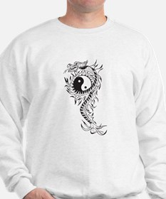 Yin Yang Dragon Sweatshirt