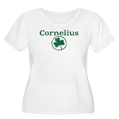 Cornelius shamrock Women's Plus Size Scoop Neck T-