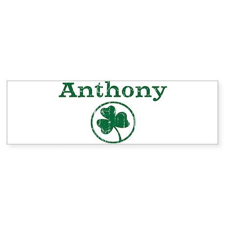 Anthony shamrock Bumper Sticker