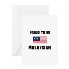 Proud To Be MALAYSIAN Greeting Card
