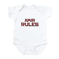amir rules Infant Bodysuit
