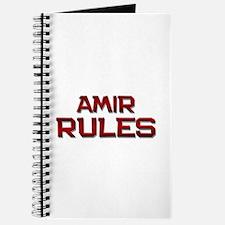 amir rules Journal