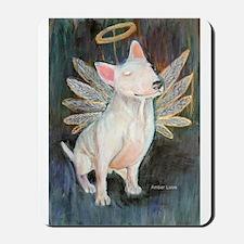 """Angel"" a Bull Terrier Mousepad"