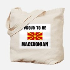 Proud To Be MACEDONIAN Tote Bag