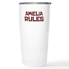 amelia rules Stainless Steel Travel Mug