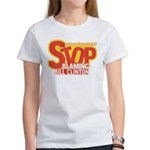 Stop Blaming Clinton Women's T-Shirt