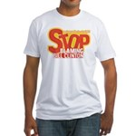 Stop Blaming Clinton Fitted T-Shirt