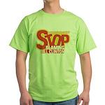 Stop Blaming Clinton Green T-Shirt
