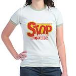 Stop Blaming Clinton Jr. Ringer T-Shirt