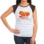 Stop Blaming Clinton Women's Cap Sleeve T-Shirt