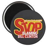 Stop Blaming Clinton Magnet