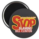 "Stop Blaming Clinton 2.25"" Magnet (100 pack)"