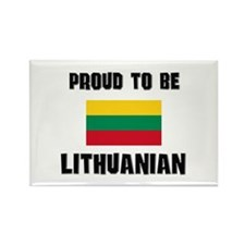 Proud To Be LITHUANIAN Rectangle Magnet