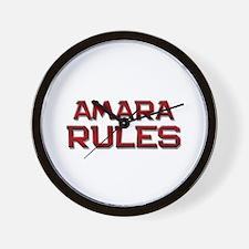 amara rules Wall Clock
