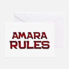 amara rules Greeting Card