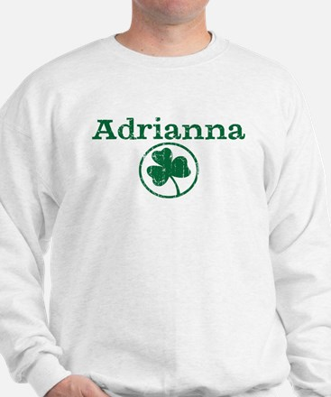 Adrianna shamrock Sweater