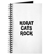 KORAT CATS ROCK Journal