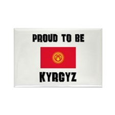Proud To Be KYRGYZ Rectangle Magnet