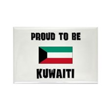 Proud To Be KUWAITI Rectangle Magnet