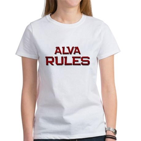 alva rules Women's T-Shirt