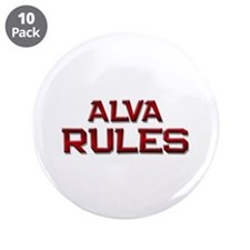 "alva rules 3.5"" Button (10 pack)"