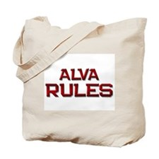 alva rules Tote Bag