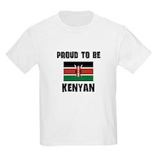 Proud To Be KENYAN T-Shirt