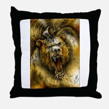 """Shardik"" (i) Throw Pillow"