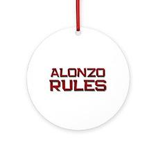 alonzo rules Ornament (Round)