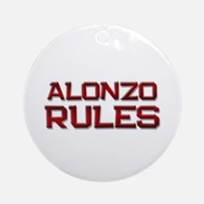 alonzo rules Ornament (Round)