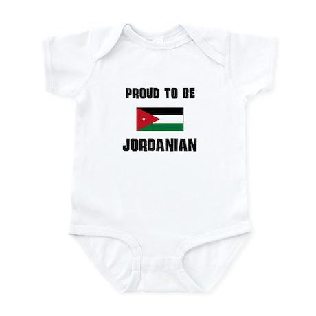 Proud To Be JORDANIAN Infant Bodysuit