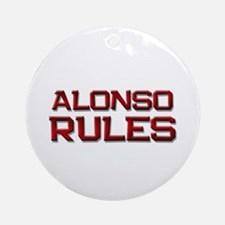 alonso rules Ornament (Round)