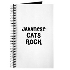 JAVANESE CATS ROCK Journal