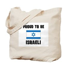 Proud To Be ISRAELI Tote Bag