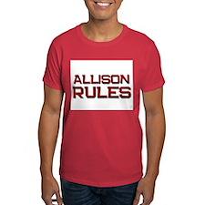 allison rules T-Shirt