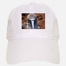 Blue Footed Boobie Close-Up Baseball Baseball Cap