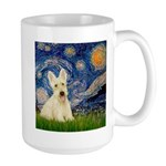 Starry Night / Scottie (w) Large Mug