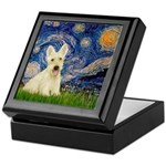 Starry Night / Scottie (w) Keepsake Box