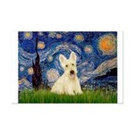 Starry Night / Scottie (w) Mini Poster Print
