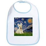 Starry Night / Scottie (w) Bib