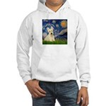 Starry Night / Scottie (w) Hooded Sweatshirt