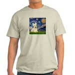Starry Night / Scottie (w) Light T-Shirt