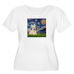 Starry Night / Scottie (w) T-Shirt