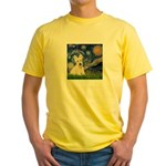 Starry Night / Scottie (w) Yellow T-Shirt