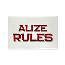 alize rules Rectangle Magnet