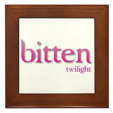 Twilight Bitten Framed Tile