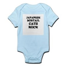 JAPANESE BOBTAIL CATS ROCK Infant Creeper