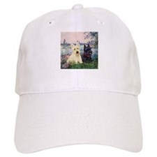 Seine / Scotties (b&w) Baseball Cap