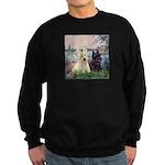 Seine / Scotties (b&w) Sweatshirt (dark)